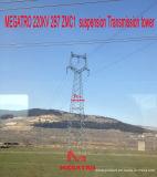 Torretta della trasmissione della sospensione di Megatro 220kv 2b7 Zmc1