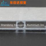 Profil en aluminium d'oxydation anodique en noir claire ou