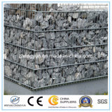 Le casier métallique pour le mur de soutènement en pierre a galvanisé les paniers soudés de Gabion à vendre