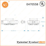 Lote de estacionamento 600W Metal Halide Replacement E40 185W LED Retrofit Lamp