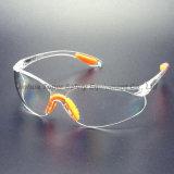 Clear PC Lens Safety Eye Glass com Soft Pad (SG102)