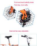 Nuevo estilo bici plegable de 20 pulgadas/bicicleta plegable con el borde de aluminio de la rueda