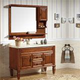 Module de salle de bains debout d'étage de qualité avec le miroir