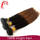 2016年の品質Ombre 1b 30# Silky Unprocessed 100%年のHuman Hair VirginインドのStraight Hair ExtensionsおよびSamples Available