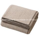 Cobertor novo tecido do hotel de lãs do Virgin puro