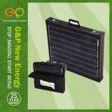 O Gp 160W que dobra o painel solar Monocrystalline com carreg o saco