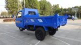 Caminhão motorizado Diesel de três rodas da carga Closed chinesa para a venda