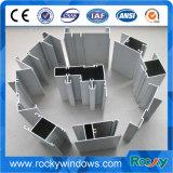 6063 profils en aluminium d'alliage du guichet T5 en verre pour faire le guichet et la porte