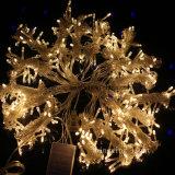 van het LEIDENE van 3m*3m het Licht Koord van het Gordijn voor de Decoratie van de Tuin van het Huwelijk van de Partij van Kerstmis van het Huis