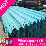 Panneau anti-collision de rambarde de forme d'onde de qualité riche d'usine d'Anping