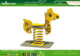 Kaiqi ягнится любимейшие пластичные игрушки - всадники весны для заднего двора, детсада