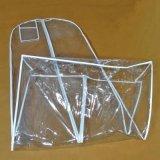 Cubiertas del plástico del PVC para la cubierta transparente del vestido del bolso de ropa de la alineada