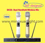 Hand-drahtloses Systems-Karaoke-Mikrofon des Mikrofon-DC-38