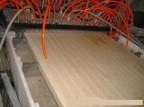 Automatischer beständiger laufender hölzerner zusammengesetzter Strangpresßling-Plastikproduktionszweig