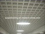 Plafond ouvert décoratif d'intérieur en aluminium de cellules