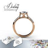 Het Kristal van de Juwelen van het lot van de Ring van Swarovski Luxx