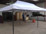tente en acier noire se pliante blanche bon marché de bâche de protection de tente de 6*3m