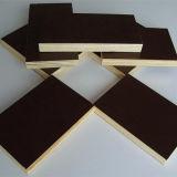 A madeira compensada Shuttering/o molde/película concretos enfrentaram a madeira compensada
