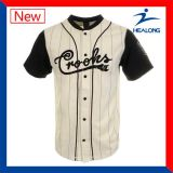 Jugend-kundenspezifische unbelegte Baseball-Softballjerseys-Hemden
