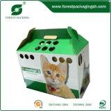 Brillante diseño personalizado corrugado fácil toma Box