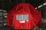 Imperméabiliser et sun-Proof Steel Structure Tensiile Military Tent