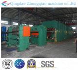 Correia transportadora do núcleo popular de matéria têxtil que cura a máquina da imprensa