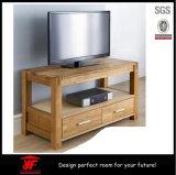 Hohe Quanlity hölzerne Kaffee-Tee-Tisch Fernsehapparat-Standplatz-Abbildungen mit Fach 2