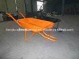 O equipamento agricultural de Wb6500 Nigéria utiliza ferramentas o fabricante do Wheelbarrow