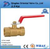 Шариковый клапан свободно образцов полной величины оптовый латунный с конструкцией способа