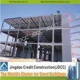 Bouw Met meerdere verdiepingen van de Structuur van het Staal van het Bureau van de Fabriek van lage Kosten de Lichte