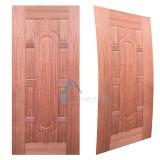 Piel natural de la puerta de la madera contrachapada del molde de Sapeli de la chapa horizontal/vertical