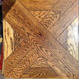 多層紫外線芸術の寄木細工の床によって設計される木製のフロアーリングのモザイク様式
