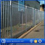 電流を通されたおよび粉のコーティングの柵の鋼鉄塀/Curva Valla/ムロの詐欺Pliegues