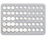 batterie alkaline de cellules de bouton de 1.5V 13mAh AG1