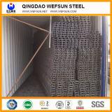 Feixe labiado da canaleta da construção de aço C do carbono de Wefsun Q195