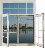 Finestra di vetro di alluminio di produzione dell'OEM (WJ-W009)