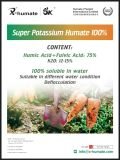 Poudre brune foncée Super Potassium Fulvate
