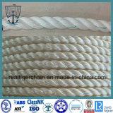 Polypropylen, Polyester mischte sich hin- und herbewegendes Liegeplatz-Seil