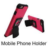 Universaltelefon-Standplatz-Kennsatz-Kreuz-schneller Verschluss-Halter mit Handy-Halter