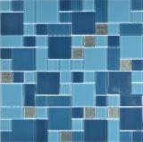 Het gemengde Mozaïek van het Glas van de Tegels van de Badkamers van de Kleur