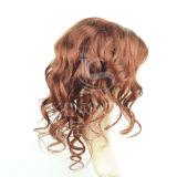 2016 peluca brasileña del cordón del frente del pelo humano de la Virgen, pelo humano del 100%