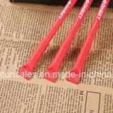 Crayon lecteur de bille de papier pour la promotion avec le corps coloré
