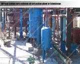 Extractor solvente del petróleo de la torta del girasol