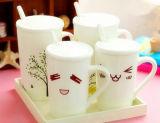 Taza de cerámica de la capacidad grande de la taza de porcelana