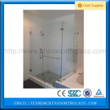 Bereift, Tinted oder Clear 12mm Shower Tempered Glass