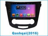 GPS Navigatioプレーヤーが付いている日産Qashqaiのための人間の特徴をもつ車DVD