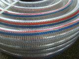 유연한 음식 급료 PVC 철강선 강화된 흡입 호스