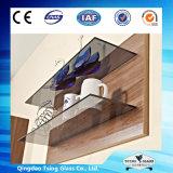 étagères en verre de 3-19mm pour la salle de bains avec du ce et l'ISO9001