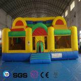 Castelo colorido inflável LG9049 do projeto quente da água dos Cocos da venda