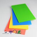 다채로운 PP 물결 모양 장 물결 모양 장